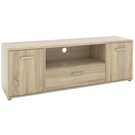 "main image of ""TV Unit 2 Doors 1 Drawer 1 Shelf in Oak"""
