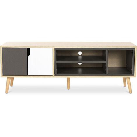 TV unit sideboard Bjorn - Wood