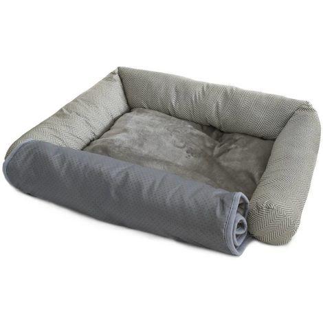 Tweed sofá suave perrera para perros y gatos Ferribiella