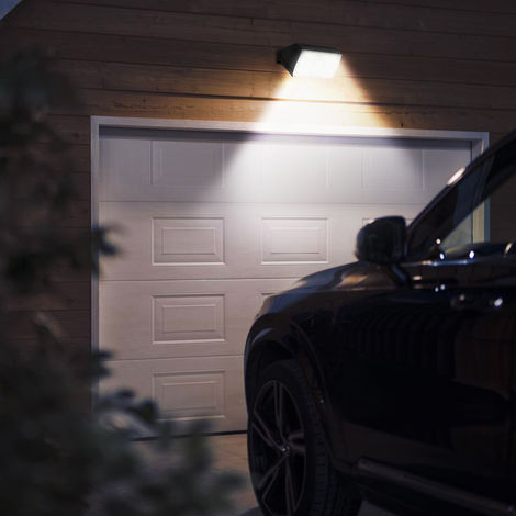 Twilight Movement Sensor Led Light Solar Wall Light RIGEL