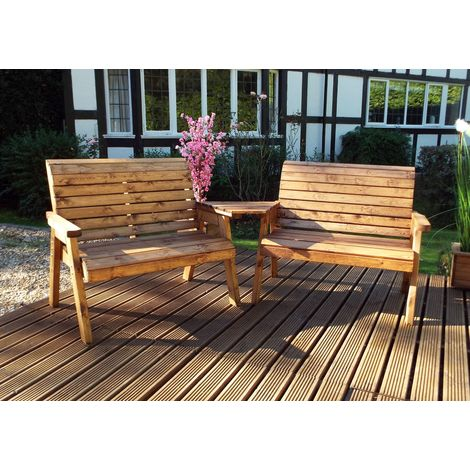 Twin Bench Set with Angle Tray HB115A