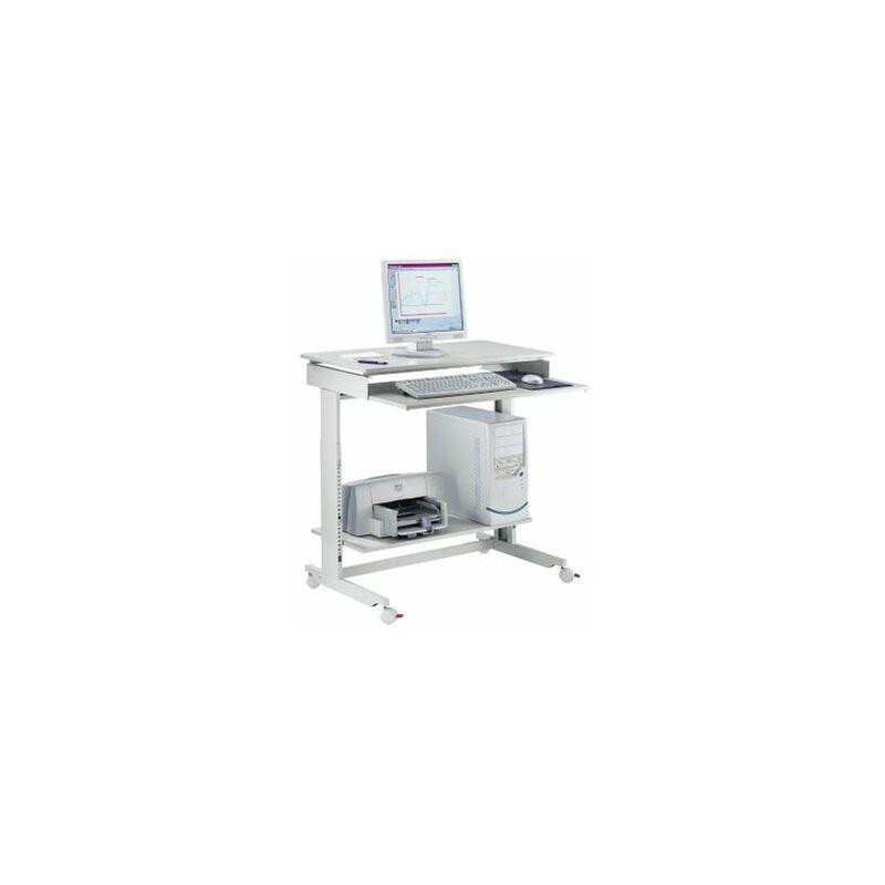Computertisch   Höhenverstellbar   BxTxH 900 x 500 x 720 – 1100 mm   Twinco