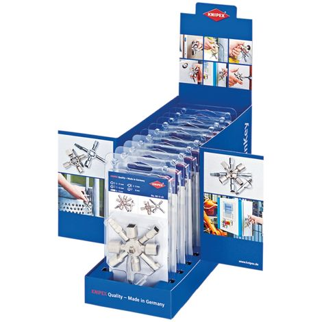 TwinKey® Service Cabinet Keys (Counter Display of 10 x KPX001101)