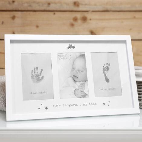 Twinkle Twinkle Baby's Hand & Foot Print Photo Frame