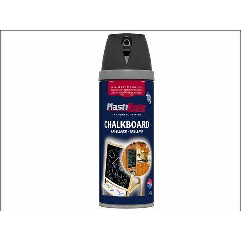 Twist & Spray Chalkboard Paint Black 400ml (PKT26001)