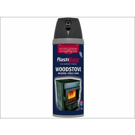 Twist & Spray Woodstove Paint Black 400ml PKT26030