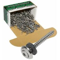 Twistec® Spenglerschraube 3tlg TX20 Edelstahl A2 4,5x25mm VPE 200 Stück