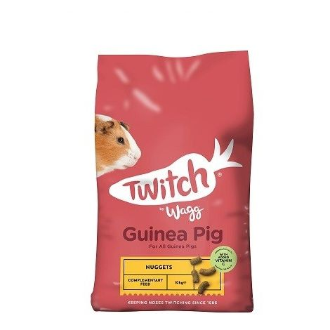 Twitch By Wagg Guinea Pig Nuggets (10kg) (May Vary)