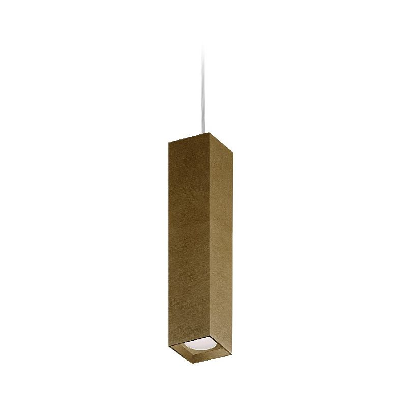 Homemania - Two Haengelampe - Kronleuchter - Deckenkronleuchter - Bronze, Schwarz aus Aluminium, 8 x 8 x 38 cm, 1 x LED, 10W, 595lm, 3000K, 220-240V
