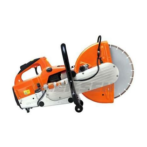 Two Stroke 350mm Gasoline Petrol Cut Off Saw Air Cooled Free Blade