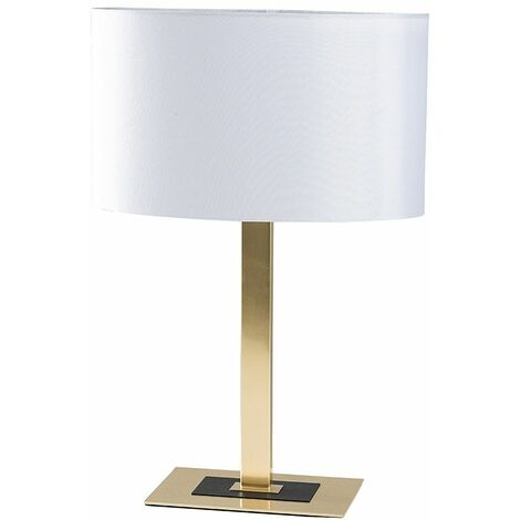 Two Tone Table Lamps Black Chrome Gold Lights