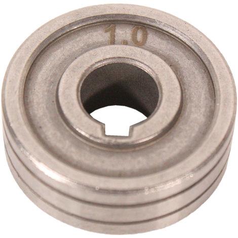 TYP W für Aluminium 0,8 + 1 mm Drahtführungsrolle WELDINGER für ME200 201