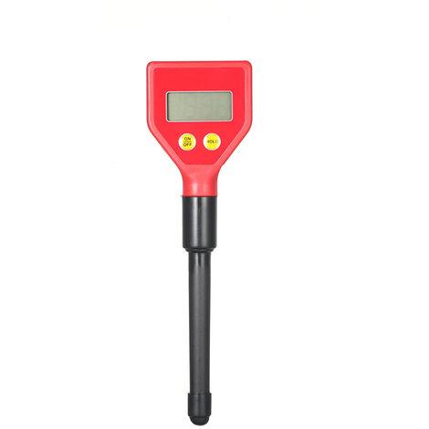 Type de stylo Hygrometre numerique d'acide du sol pH-metre du sol Acidimetre portable avec bouton PH-98103 (livre sans batterie)