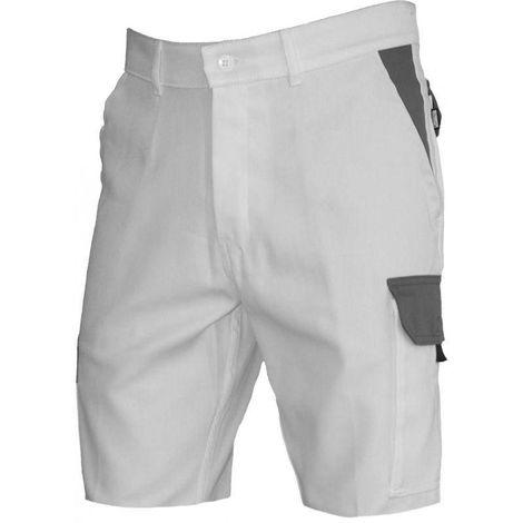 Typhon Blanc short de travail blanc sans métal PBV Vpb