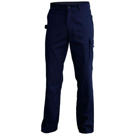 TYPHON Pantalon de travail polycoton sans partie métallique marine PBV Vpb