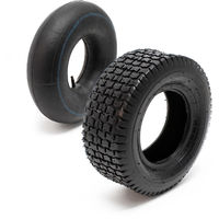 Tyre for lawn mower 16x6.50-8 4pr with innner tube and straight valve stem garden tractor