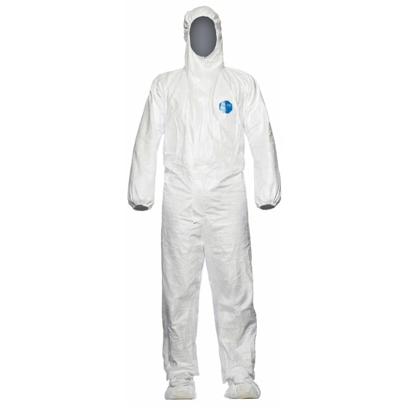Image of Dupont Tyvek Tyvek Labo Hooded Coverall White - Large