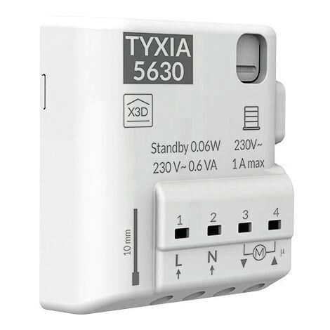Tyxia 5630 Récepteur nanomodule radio pour volets roulants - blanc