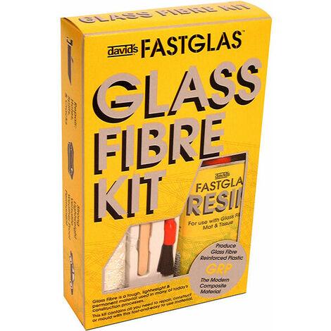 U-POL GL/SM/D Fastglas Resin & Glass Fibre Kit Small