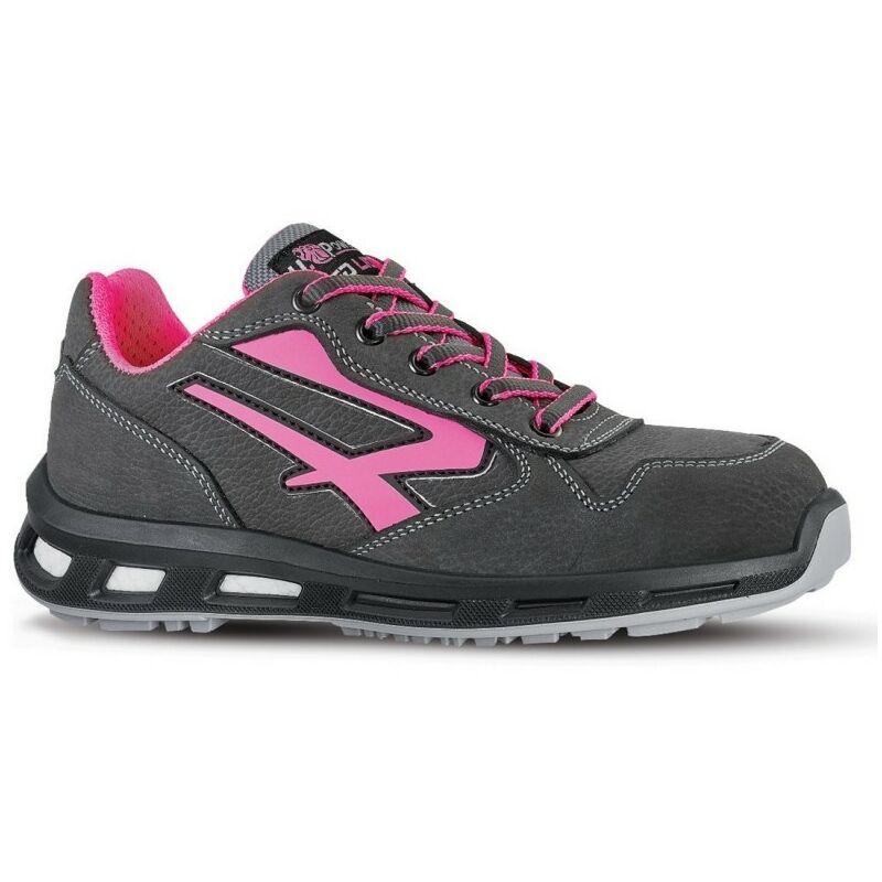 Chaussures de sécurité femme gris rose U Power RedLion CANDY