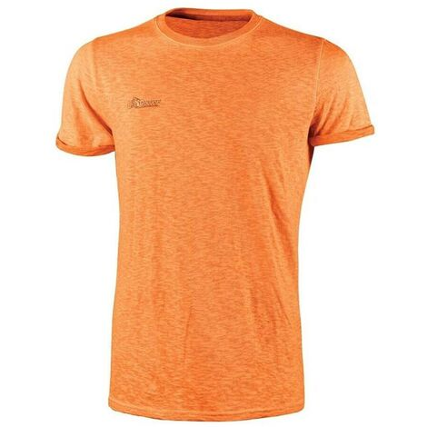 U-POWER EY195OF-M - Camiseta manga corta gama ENJOY modelo FLUO Orange Fluo Talla M (Paquete de 3 ud)