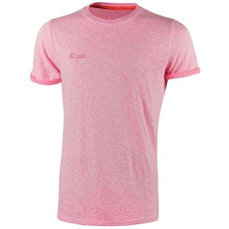 U-POWER EY195PF-L - Camiseta manga corta gama ENJOY modelo FLUO Pink Fluo Talla L (Paquete de 3 ud)