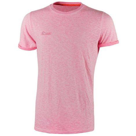 U-POWER EY195PF-M - Camiseta manga corta gama ENJOY modelo FLUO Pink Fluo Talla M (Paquete de 3 ud)