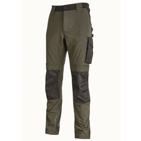 U-Power - Pantalon de travail ATOM Slim Fit Taille:3XL