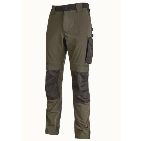 U-Power - Pantalon de travail ATOM Slim Fit Taille:L
