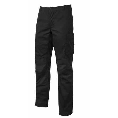 U-Power - Pantalon de travail OCEAN Stretch et Slim - EY123 Taille:S
