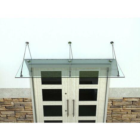 U Aluminium Profil für Glaswände 2000m x 21mm x 47mm