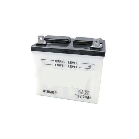 U19 - Batterie (U19) 12 Volts 24 Ah - Borne + à gauche