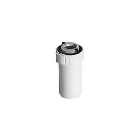 Ubbink 227530 - Conduit PPTL/PVC 80/125 Lg250mm - blanc