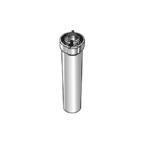 Ubbink 227532 - Conduit ventouse 80/125 PPTL/PVC ROLUX L=1000 - blanc