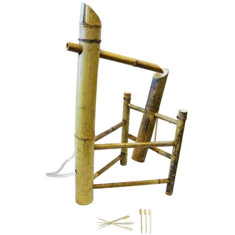Ubbink Adorno de fuente Shishi Odosh bambú 1221602