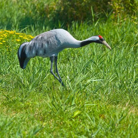 "main image of ""Ubbink Animal Figure Crane 72cm - Grey"""