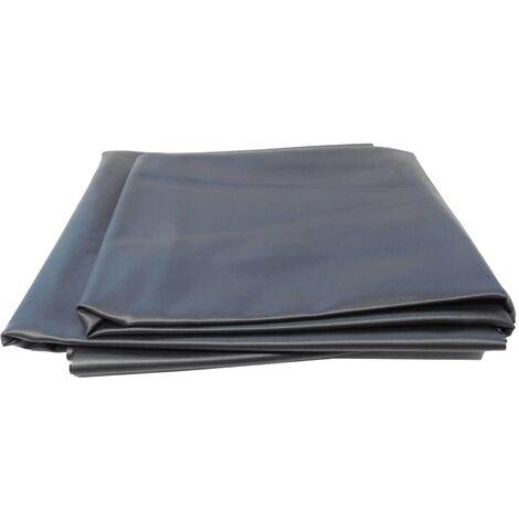 Ubbink AquaLiner Pond Liner PVC 6 x 5 m Black