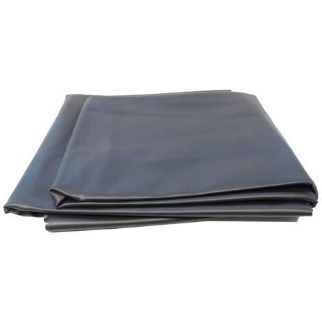 Ubbink AquaLiner Revestimiento Negro de PVC de Estanque 6 x 5 m