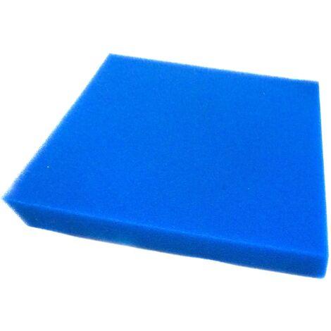 Ubbink Esponja de filtrado universal para estanque 50x50x5 cm - Azul