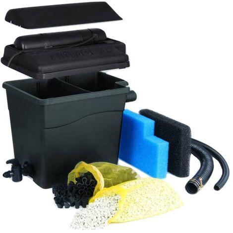 Ubbink Filtro de estanque FiltraClear 2500 PlusSet 1355164 - Negro