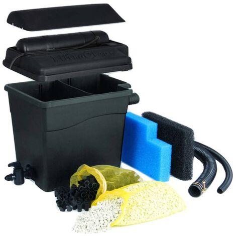 Ubbink Filtro de estanque FiltraClear 4500 BasicSet 1355160 - Negro