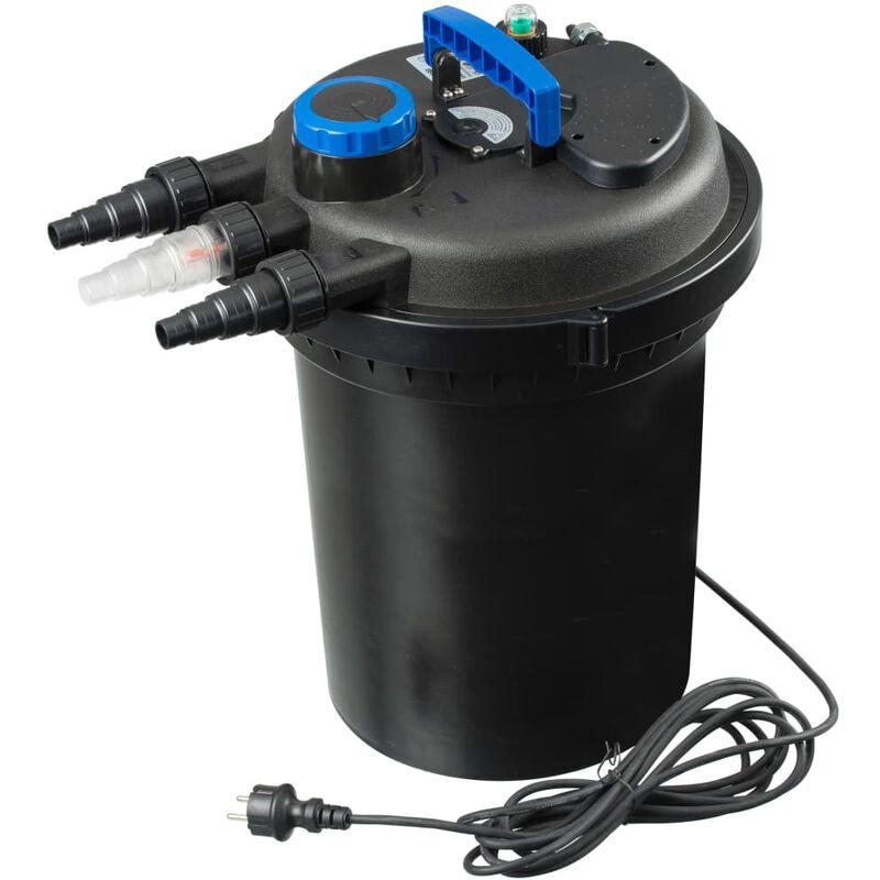 Filtro de estanques BioPressure 18000 18 W - Negro - Ubbink