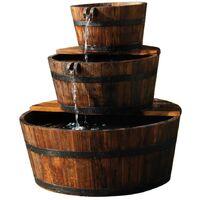 Incroyable Ubbink Fontaine De Jardin 3 Tonneaux En Cascade