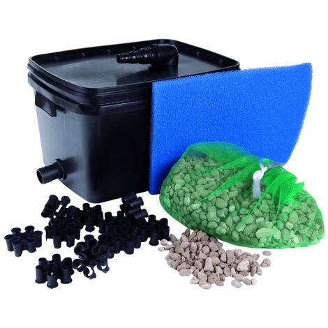 Ubbink Pond Filter Set FiltraPure 2000 16 L 1355965 - Black