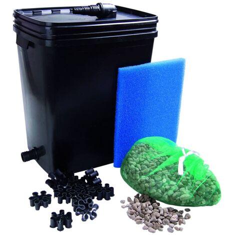 """main image of """"Ubbink Pond Filter Set FiltraPure 7000 37 L 1355969 - Black"""""""