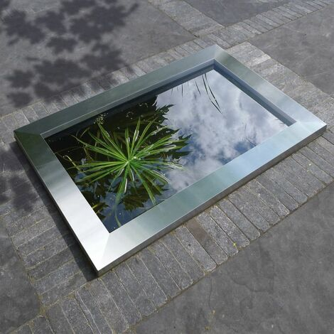 "main image of ""Ubbink Quadra C3 Stainless Steel Pool Frame"""