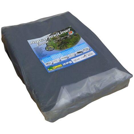 Ubbink Revestimiento para estanques AquaFlexiLiner EPDM 5,05x7,5 m - Negro