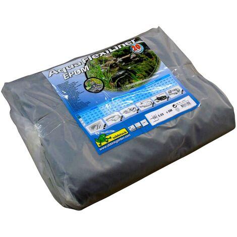 Ubbink Revestimiento para estanques AquaFlexiLiner EPDM 5x5,05 m - Negro