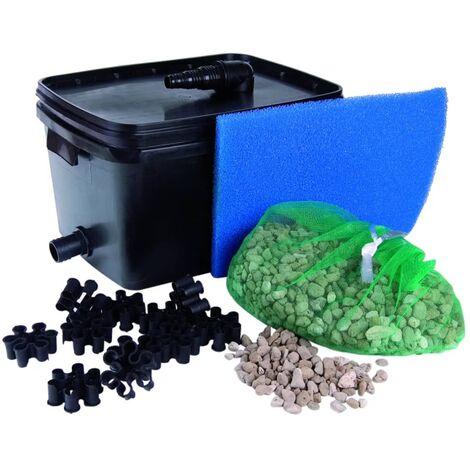 Ubbink set filtro per laghetto filtrapure 2000 16 l 1355965 for Filtro per stagno