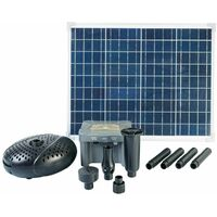 Ubbink SolarMax 2500 Set with Solar Panel, Pump and Battery